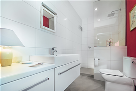 bathroom of bedroom 5 in country house for sale in Barcelona, Spain