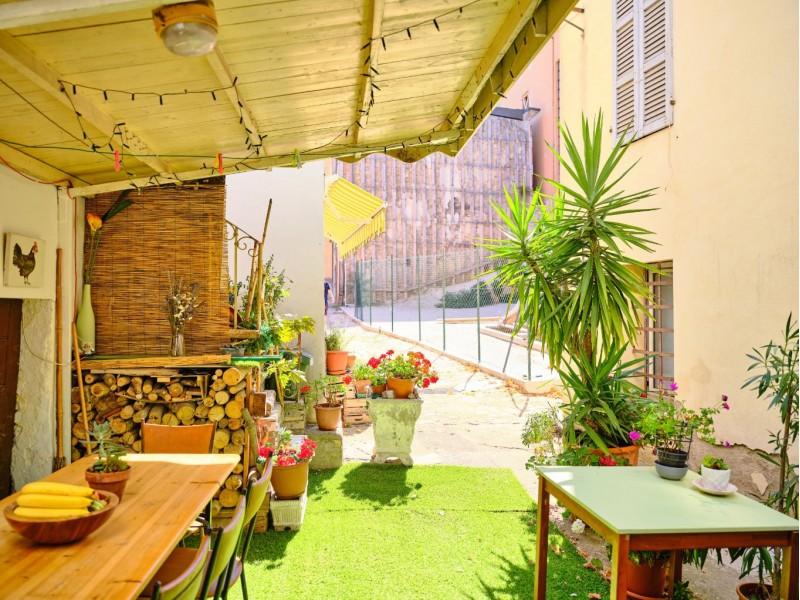 Ground level Courtyard