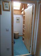 View in to bedroom 3 from corridor