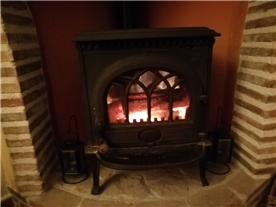 Top of the range Jotal wood burner