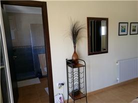 En-suite bathroom with walk in shower room - master bedroom