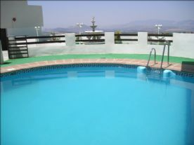 Swimming Pool and View of Mountains