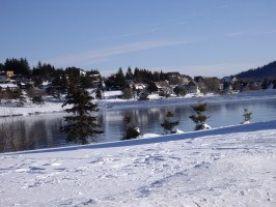 Ski-ing 90 minutes away