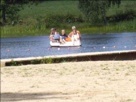 Lake with man made beach - 15 mins away