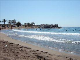 Beach at Bolnuevo