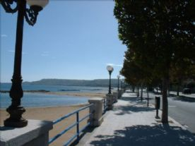 The seafront at Crotone