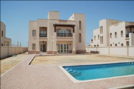 Villa showing swimming pool and garden