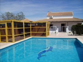 Pool, Summerhouse & Villa