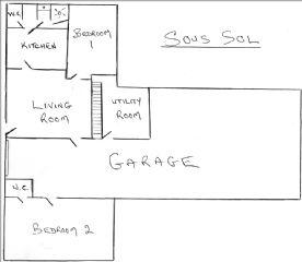 garage and sous sol floor plan