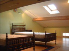 Attic bedroom very suitable for children