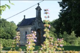 View of Petite Chapelle from Garden