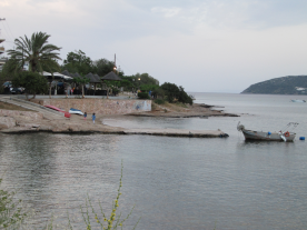 Looking out across the bay of Porto Rafti. 05/05/18 @ 20.10