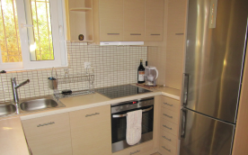 Part of the kitchen with appliances included