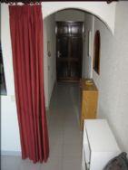 From lounge to front door - bedroom on left