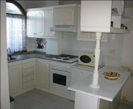 Kitchen from lounge area