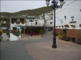 bar in the plaza