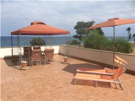 Huge beautiful sun terrace