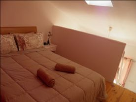 Bedroom 2: double bed upstairs