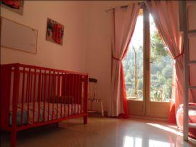 Bedroom 2: downstairs, walkin wardrobe & french doors