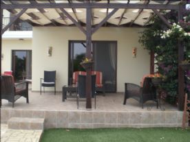 Covered Lounge Patio