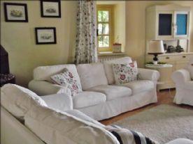 La cascina del burro bianco - Sitting room