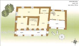La Cascina del burro bianco - First floor plan