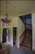 stairway from dining room