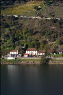 Aregos from across the Douro, house and railway station