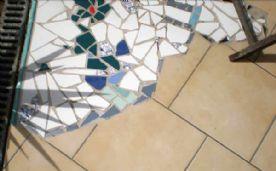 Patio mosaic