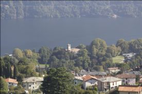 Villa Erba view from living room