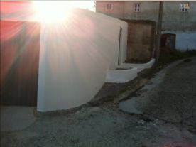 garage and a spare room