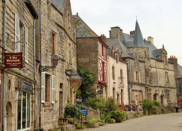 The Medieval Town of Locronan