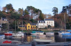 Pont Aven is a haven for sailors and artists alike.