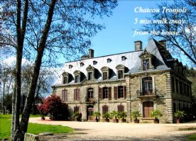 Chateau Tronjoly - 5 min. walk away with major fetes and events.