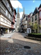 Quimper is a popular tourist venue