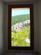 View through entrance hall window