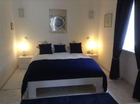 Master bedroom, Kingsize bed