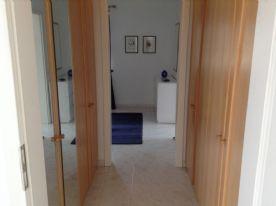 Walk-through dressing room to master bedroom
