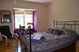 One of three sized similar double bedrooms