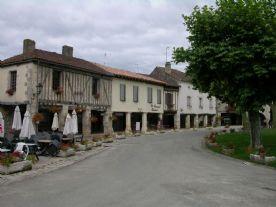 A Bastide village