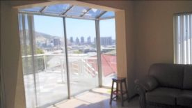 View from family/living room and sliding doors to terrace.