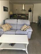Living area in apartment