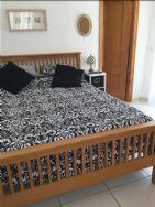 Master bedroom with door to terrace
