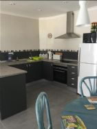 Kitchen area in apartment