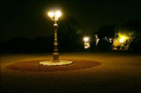Front at night