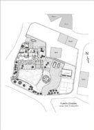 Plot and ground floor plan