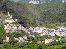 The village of Roccacasale